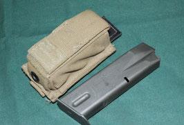 US製 9mm 15連マガジン & EAGLE 9MM シングルマガジンポーチ 中古良品