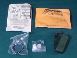 売切れ ナイトビジョン PVS-14用 保護レンズ&マニュアル オプティカルティッシュ付き