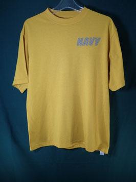 売切れ AUTHENTIC  U.S.NAVYプリントTシャツ