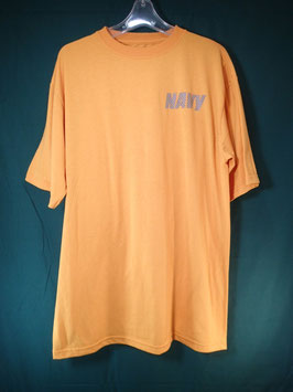 売切れ US NAVY 半袖プリントTシャツ L