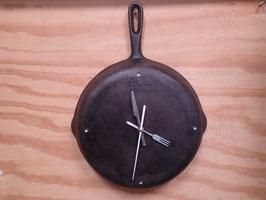 フライパン壁掛け時計 直径約26cm