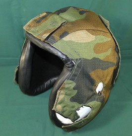 売切れ フライトヘルメット用 ヘルメットカバー カモフラ 中古
