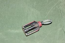 実物 M249 5.56mm BFA ブランクアダプター レッド 中古 ②