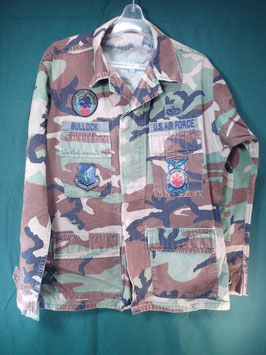 USAF カモフラジャケット 中古品