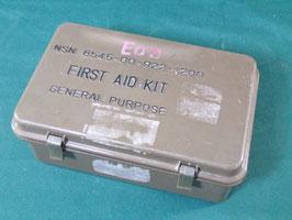 売切れ メディカルFIRST AID KIT用プラスチックケース OD 2
