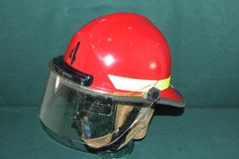 Bullard FIRE FIGHTER 消防用 ヘルメット LEDライト バイザー付 ②