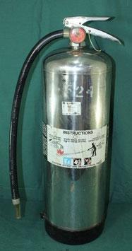米軍使用 ミリタリー消火器  2 1/2GALLON WATER