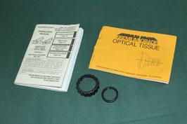 ナイトビジョン PVS-14用 保護レンズ&マニュアル オプティカルティッシュ付き