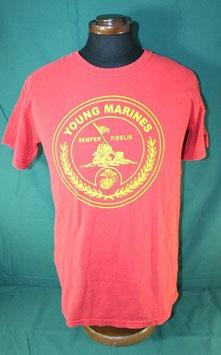 売切れ USMC YOUNG MARINES  半袖 プリントTシャツ Sサイズ
