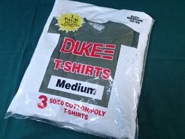 売切れ DUKE 無地Tシャツ3枚セット 新品