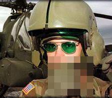 AH-64 アパッチパイロット用 レーザー保護メガネ  中古