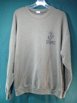 USMC 長袖トレーナー XL 中古品②
