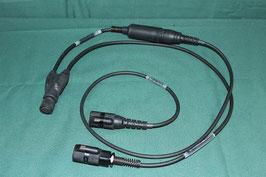 TEA PRC-148 152用 PRC ケーブル 10ピン 6ピン 二股 良品