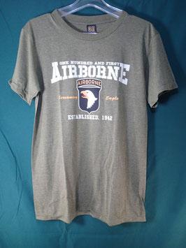 売切れ AIRBORNE 半袖プリントTシャツ