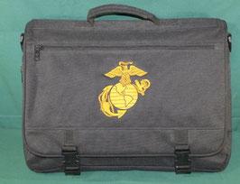 売切れ USMCマーク入り ブラックカラー バッグ