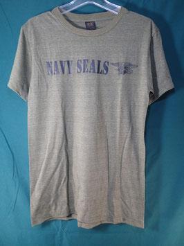 売切れ NAVY SEALS 半袖プリントTシャツ