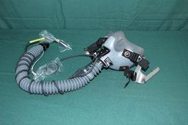沖縄米軍実物MBU-12/P パイロット用 酸素マスク 未使用