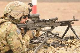 実物 M240 M240L 用  Hydraulic バットストック 良品