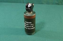 売切れ 米軍放出品 2BANG フラッシュバングレネード 使用済み