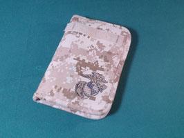 売切れ USMC デザートピクセルバインダー
