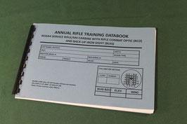 沖縄米軍実物 USMC ライフル用トレーニングブック