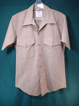 半袖 カーキシャツ 中古品