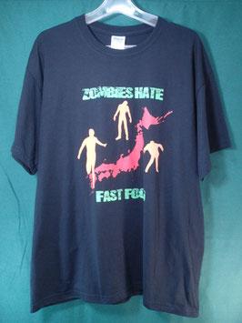 売切れ KADENA ZOMBI RUN 5K 2012 プリントTシャツ Lサイズ