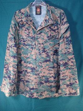 売切れ 海兵隊使用 ODピクセルジャケット M-R
