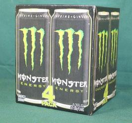 売切れ アメリカ版 MONSTER ENERGY モンスターエナジードリンク 緑 16OZ 4本セット