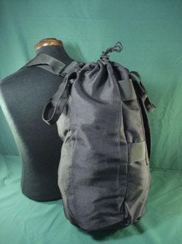 売り切れ ブラックカラー小型 ダッフルバッグ 取っ手付き