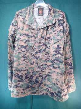 海兵隊 ODピクセル ジャケット M-R 中古品