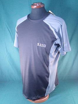 5.11 TACTICAL Tシャツ ブラック×グレー M、L、XL