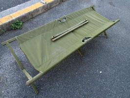 売切れ 木製 GI コット 折り畳みベッド 中古