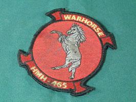 売切れ WARHORSE HMH-465 パッチ