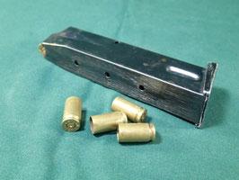売切れ 9mm 15連マガジン 中古品 空薬莢5個付き