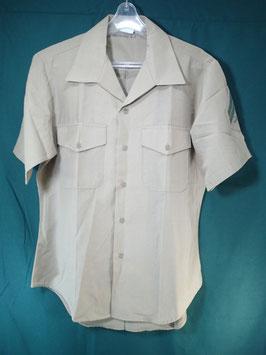 半袖 カーキシャツ 16 中古品