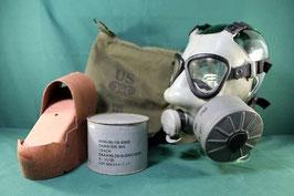 売切れ ガスマスク コットンバッグ・M11キャニスター付き