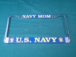 売切れ U.S NAVY ナンバープレートフレーム