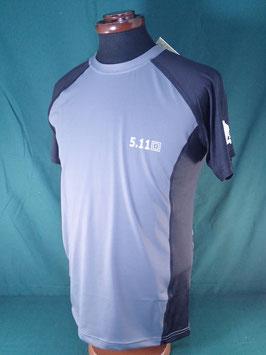 5.11 TACTICAL Tシャツ グレー×ブラック M、L、XL