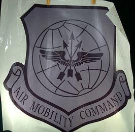 USAF 航空機動軍団 部隊章シール
