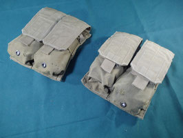売切れ 米軍放出品 EAGLE  MP2-M4 ダブルマガジンポーチ 2個セット
