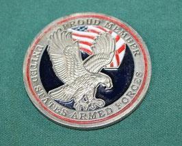 売切れ US ARMED FORCE メダル