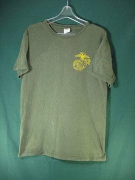 売切れ 米軍放出品 USMC 半袖 プリント Tシャツ M