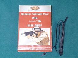 売り切れ 沖縄米軍実物 modular Tactical Vest MTV ユーザーガイド