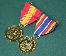 売切れ サービスメダル 2連 NATIONAL DEFENCE & WAR ON TERRORISM SERVICE