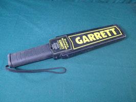 売切れ 沖縄米軍使用 GARRETT 金属探知機 ハンディ 中古品