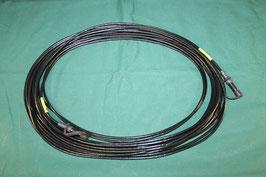 ブラック ケーブル 約14m 7ピン 未使用
