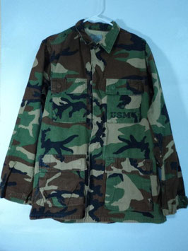 売切れ 0326-12 カモフラージュ ジャケット 中古品