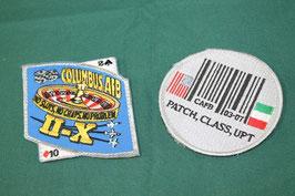 売切れ COLUMBUS AFB & CAFB パッチ2枚セット