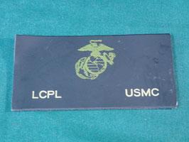 USMC レザーパッチ 上等兵用